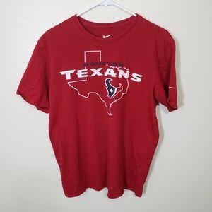 Houston Texans Nike Mens Tee in Adult L